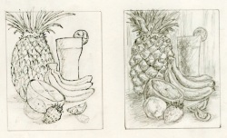 Graphite and ink compositions.